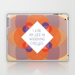Widening Circles, Geometric Laptop & iPad Skin