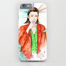 Red boy iPhone 6s Slim Case