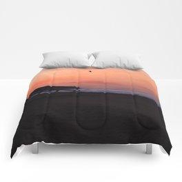 Peach Skies Comforters