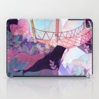 bridge iPad Cases featuring Bridge by sarlisart