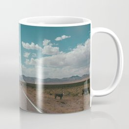 cows on the open road Coffee Mug