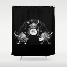 SEX BOB-OMB - B&W Shower Curtain