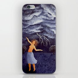 Storm Witch iPhone Skin