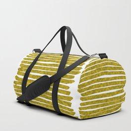 Gold Lines Duffle Bag