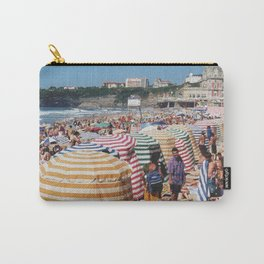 Biarritz Beach Tents Carry-All Pouch