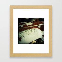 Rust, Kingman AZ Framed Art Print