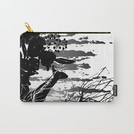 Black and White Series: Watering Can Carry-All Pouch