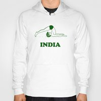 india Hoodies featuring India  by Tshirtbaba