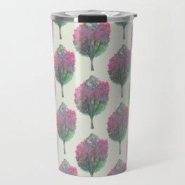 crepe myrtle pattern Travel Mug