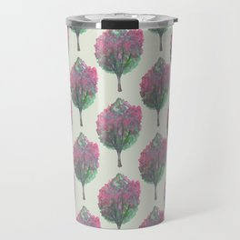crepe myrtle pattern Travel Mug