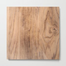 Wood Grain #575 Metal Print