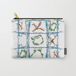 X and O Carry-All Pouch