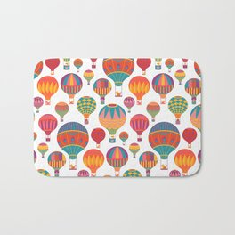 Air Balloons Bath Mat
