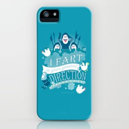 French Taunting iPhone Case
