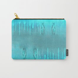 Teal Bottles Carry-All Pouch