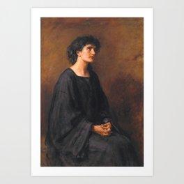 Sir John Everett Millais, Bt 1829–1896  A Disciple Art Print