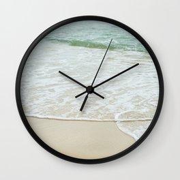 Mellow Waves Wall Clock