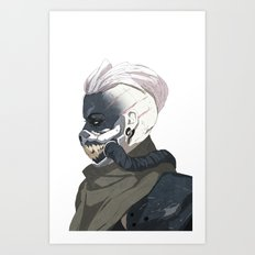 Skarr Art Print