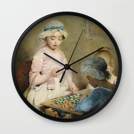 Charles Joshua Chaplin - The Game of Lotto Wall Clock