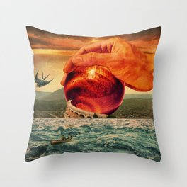 Strengthen What Remains Throw Pillow