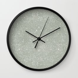 Winter Sparkles Wall Clock