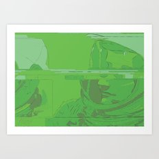 Green Armstrong Art Print