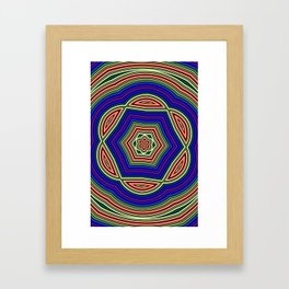 Pastal Petal Framed Art Print