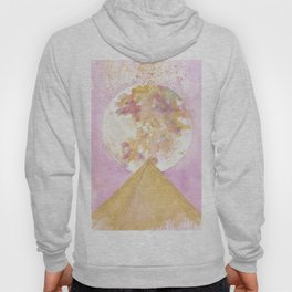 Full Moon over Pyramid Hoody