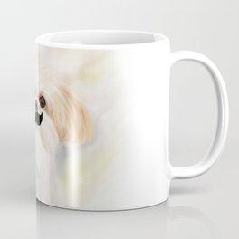 Mustache SHIH TZU Coffee Mug