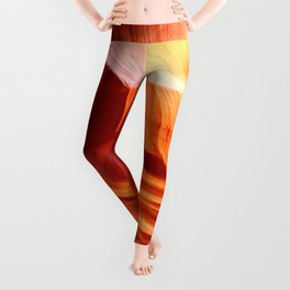 Bright Antelope Canyon Colors Leggings