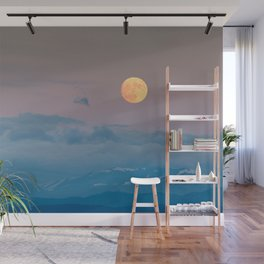 Full super moon December 2017 Wall Mural