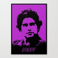 entourage Canvas Prints featuring Entourage - Vinny Chase by StriveArt