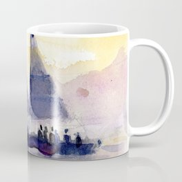 sunset at the keys Coffee Mug
