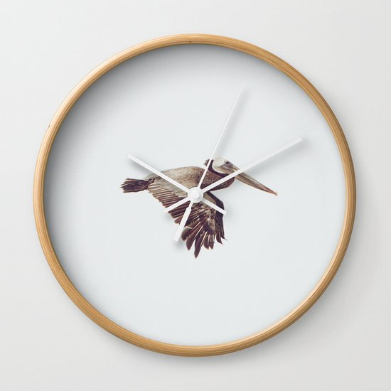 Solo Flight Wall Clock