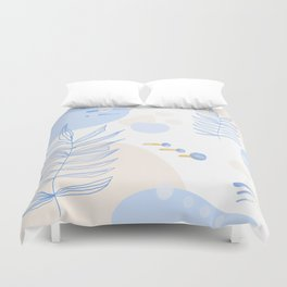 Pastel Pop in Sand Duvet Cover