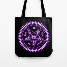 Sebastian Michaelis Sigil Light (black bg) Tote Bag
