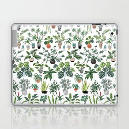 plants and pots pattern Laptop & iPad Skin