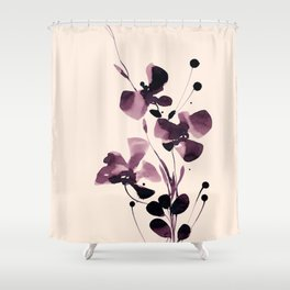 Organic Impressions 334p by Kathy Morton Stanion Shower Curtain
