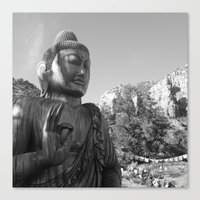 buddah Canvas Prints featuring Buddah by Nicolette Hand