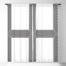 Linear Square Blackout Curtain