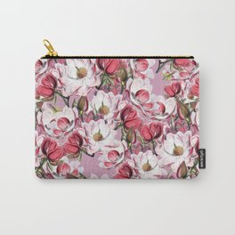 Vintage Magnolias Carry-All Pouch