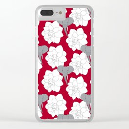 Alabama crimson Clear iPhone Case