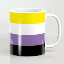 Gender Non-Binary Flag Coffee Mug