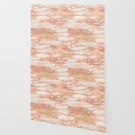 Sorano rose gold marble Wallpaper