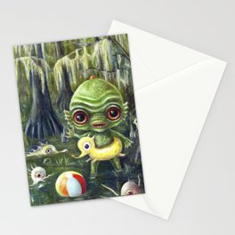 Baby Creature from the Black Lagoon Stationery Cards