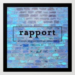 rapport brick Art Print