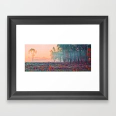 Wisley Common In Art Framed Art Print