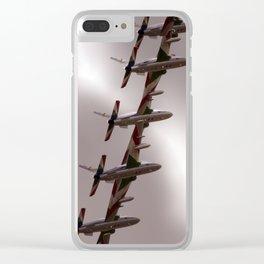 Frecce Tricolori Clear iPhone Case