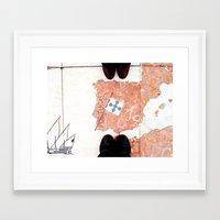 feet Framed Art Prints featuring Feet by Little Miss Joey