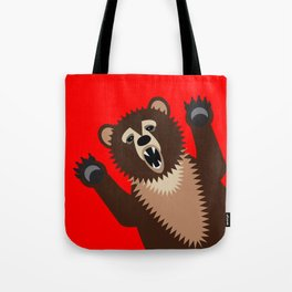 The Bear Says Boo Tote Bag